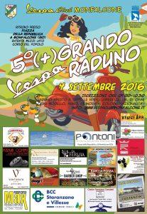 locandina 5° + Grando Vespa Raduno